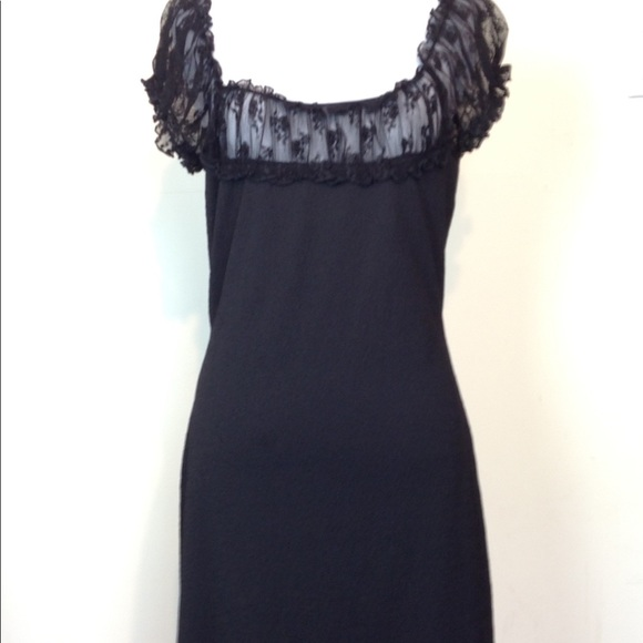 59a25050fc15 City Triangles Dresses   Dress Black Lace Trim 10 Pretty   Poshmark